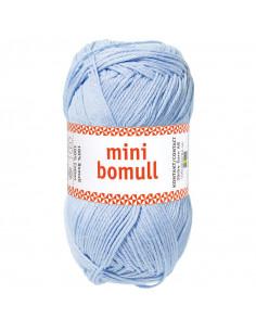 Minibomull 71006 Ljusblå