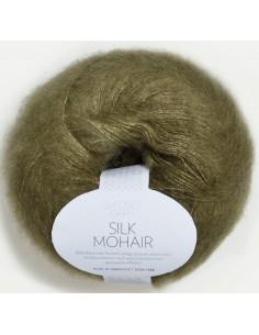 Silk Mohair 9554 Mossgrön