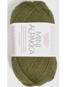 Mini Alpakka 9554 Olivgrön