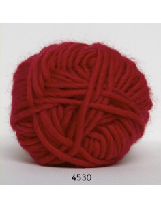Natur uld 100g 4530 Röd