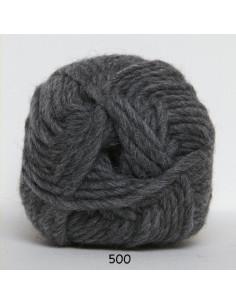 Natur uld 100g 500 Mörk Grå