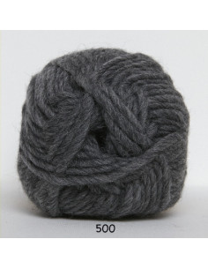 Naturuld 100g 500 Mörk Grå
