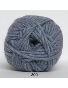 Naturuld 100g 800 Ljusblå