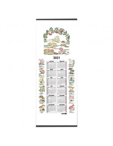 Tyg Kalender 2021 Landskapssvampar