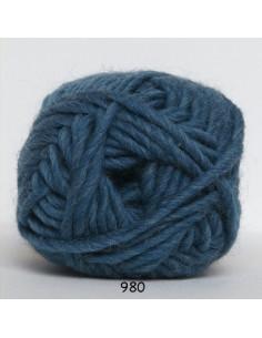 Natur uld 100g 980 Petrol