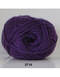 Cotton 8 3714 Mörklila