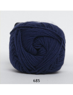 Cotton 8 685 marinblå