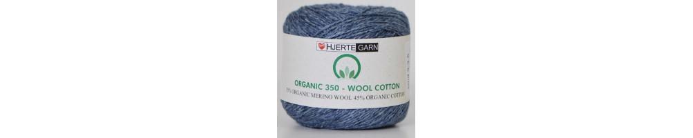 Organic 350 Wool Cotton